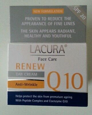 Lacura Anti-Wrinkle Coenzyme Q10 Day Cream With Retinol All Skin  Spf20