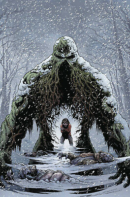 Swamp Thing Winter Special #1 Fabok Cover Tom King Dc Comics Preorder