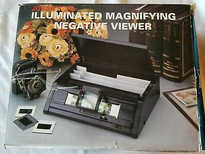Jobar's Illuminated Magnifying Negative  Viewer-Battery Powered Free Shipping