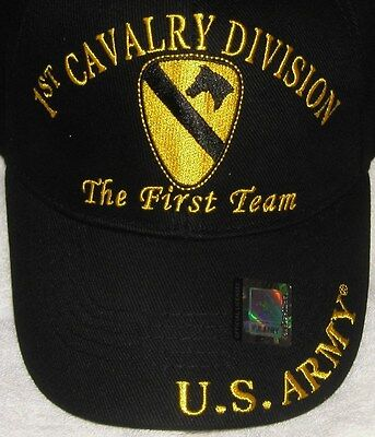 Brand New Us Army 1St Cavalry Division Licensed Hat/cap #109