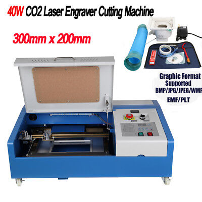 40W USB CO2 Laser Engraver Engraving Cutting Machine Woodworking Laser Cutter