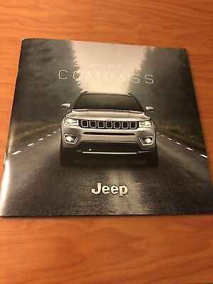 2018 JEEP COMPASS 42-page Original Sales Brochure