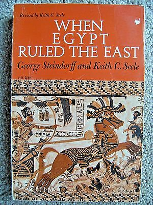 When Egypt Ruled the East by Keith C. Steele and George Steindorff  Paperback