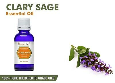Natural Clary Sage Essential Oil 100% Pure UNCUT Pure Therapeutic Grade Oils