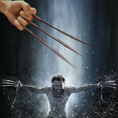 Hot Cosplay 1:1 X MAN Wolverine Claws Movie Costume Refinement Paw Props Gift