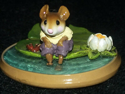 Wee Forest Folk LILLYPADDLE PM-3 2000 Mint retired only 100 made Lilypaddle WFF