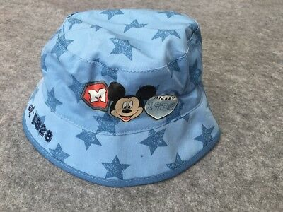 NEW Toddler Kids Boys Mickey Mouse Bucket Hat w/ Brim *Size 1-3yrs, 4-6yrs*