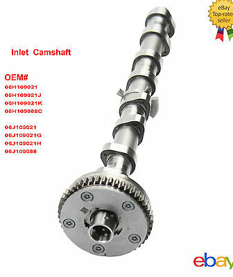 06H 109 088 C Intake CAMSHAFTS For Audi Skoda SUPERB VW Passat Golf 1.8 TFSI New
