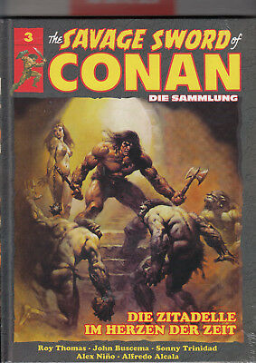 The Savage Sword of CONAN - Die Sammlung Band 3 HC noch ovp: Hachette, deutsch.