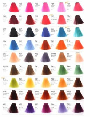 Anthocyanin Hair Manicure Semi Permanent Acid Self Dye U Choose 45 Shades