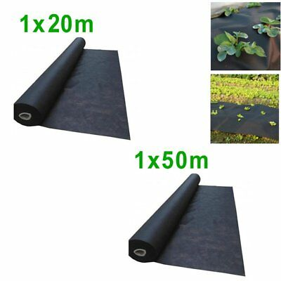 1*20m 1*50m Large Big Garden Weed Control Fabric Membrane Ground Sheet Cover
