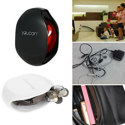 Magic Recoil Automatic Cord Winder For Earphone& Earbuds& Headset USB Cable T5M1