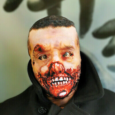 3D Rotted Zombie 3 Effect Face Skin Lycra Fabric Face Mask Halloween Grim Reaper