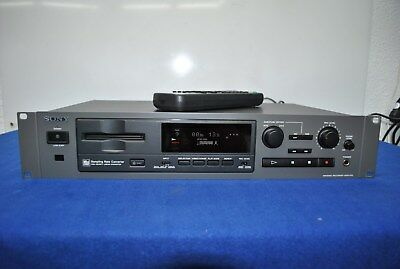 """Sony MDS-E 52 Professional Minidisc Recorder  with remote control RM-D7M """" TOP """""""