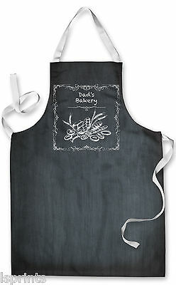 Splashproof Novelty Apron Dads Bakery Cooking Painting Art Kitchen BBQ Gift