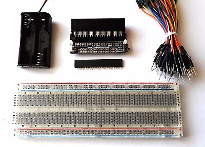 RKub1 Breakout Board Inventors Kit for BBC Micro:Bit - Self Build - UK Seller