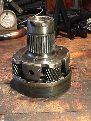 Vintage industrial steampunk cast iron gear sprocket lamp base proyect