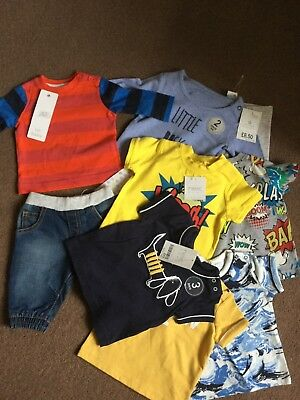 Next,F&F Baby Boys Clothes Bundle Bnwt Age Newborn Up To One Month