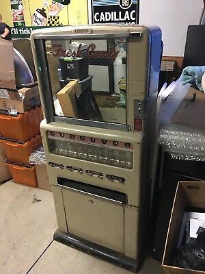 1940's Antique Stoner Candy Gum Vending Machine - Working Condition