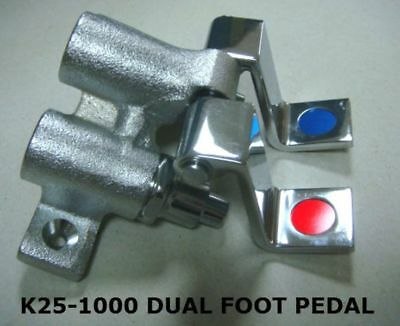 Dual Foot Pedal Valve For Use With Faucets (Kl25-1000)