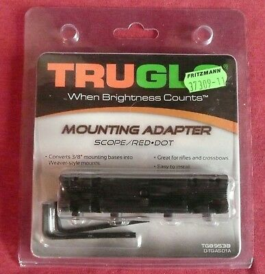Truglo Mounting Adapter - Montageadapter 3/8