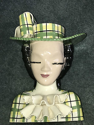 Betty Lou Nichols Flora Belle Head Vase - 11 1/2 Inches Tall