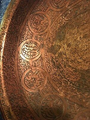 #unusual Islamic Persia Ottoman Talisman Amulet Bronze Numerology magic bowl