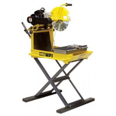 "New Multiquip MP120E 14"" Blade Guard 2 HP 1 Phase Masonry Table"