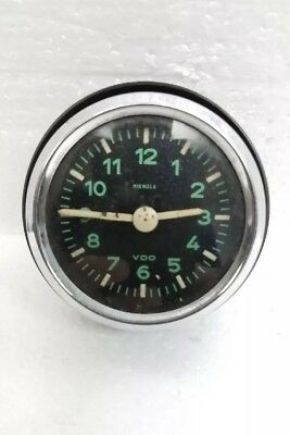 Vintage 1955-63 German Kienzle VDO Mercedes manual car / auto clock