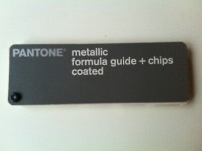 Pantone metallic formula guide + chips coated, discontinued