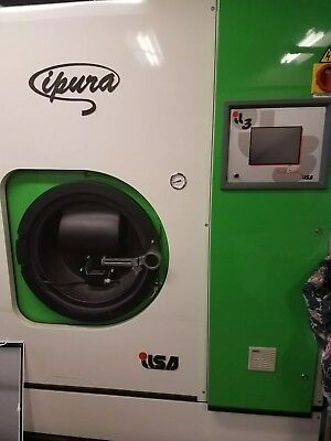 Ipura columbia dry cleaning machine with Green Earth.