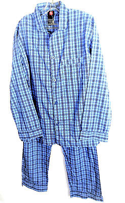 Hanes Men's Vintage Lounge Pajamas Sz M Premium Comfort Soft Cotton Blend PJ's