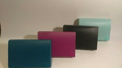 Pen & Gear Index Card Case, Holds 4X6 card Assorted Colors
