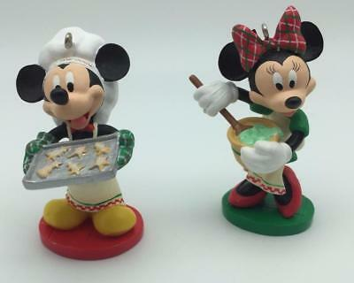 2004 Affection for Confections Hallmark Ornament Mickey and Minnie Baking