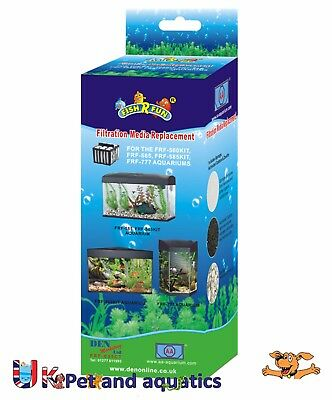 Fish R Fun FRF-035CT Aquarium Replacement Filter Cartridge Media