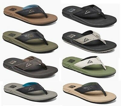 Reef Men's Phantoms Water Beach Flip Flops Sandals Sizes 7 8 9 10 11 12 13 14 15