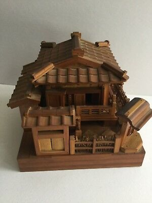 Hand Made Japanese House With Reuge Music Works