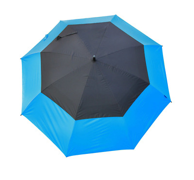 Masters Golf - TourDri GR 32 Inch UV Umbrella Electric Blue/Jet Black
