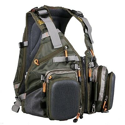 (Backpack(backpack style)) - Maxcatch Fly Fishing Vest Pack (Fishing Vest/