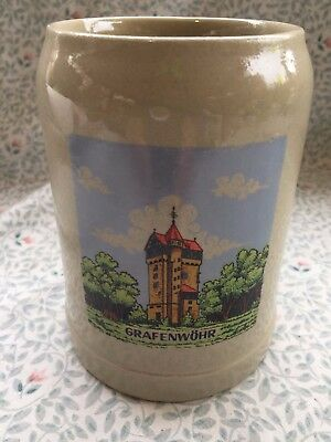 Vintage Germany .5L Gerz Stein / Mug GRAFENWOHR Stoneware - Great Condition