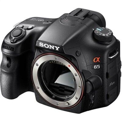 "Sony Alpha SLT-A65V 24.3MP 3"" LCD 1080 HD Digital Camera (Body)"