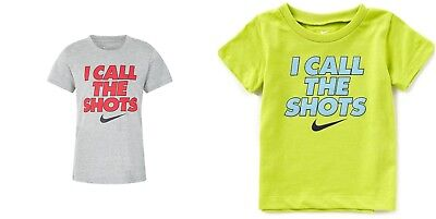 New Nike Boys Graphic Print Shirt Size 2T, 3T, 6 and 7