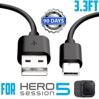 For GoPro Hero 5 Session Camera USB Data Sync Power Charger Charging Cable Cord