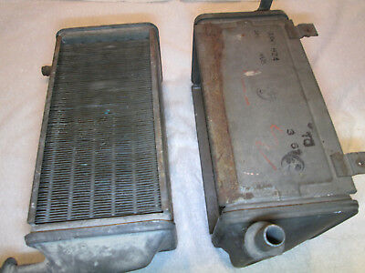 daimler v8 heater matrix mk1 jag jaguar pair 2x x2 heaters rad radiator 2.5... 6