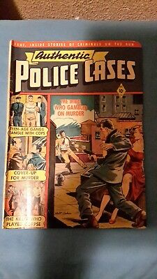 Authentic Police Cases Comic Book #16 December  1951