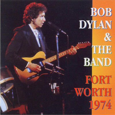 """Bob Dylan & The Band """"Fort Worth 1974"""" OOP Rare 2 Cd Tarrant County Convention"""