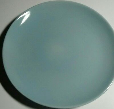 """Russel Wright Iroquois Ice Blue 10"""" Dinner Plate"""