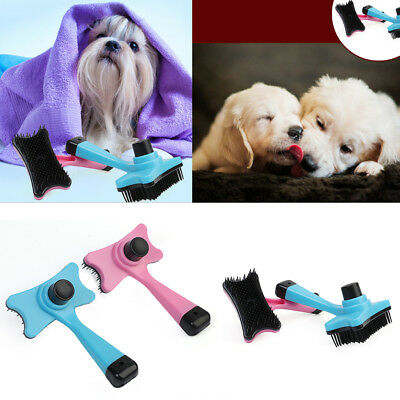 Pet Dog Cat Puppy Hair Grooming Trimmer Comb Slicker Brush Pet Supplies