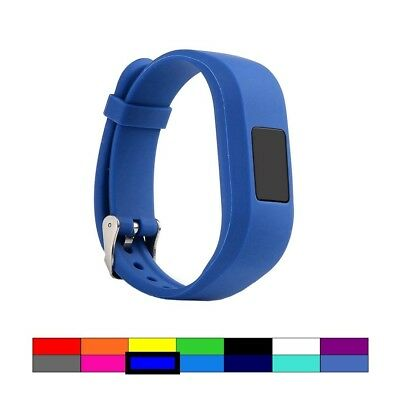 (DEEP BLUE) - For Garmin Vivofit 3 and Vivofit JR, Dunfire Colourful Accessory