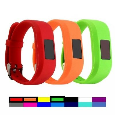 (3PCS - 1) - For Garmin Vivofit 3 and Vivofit JR, Dunfire Colourful Accessory